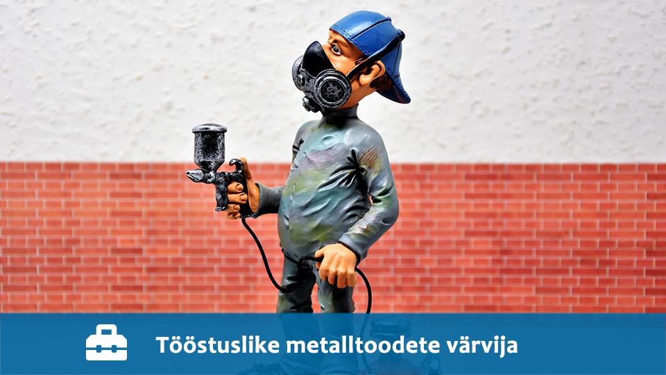 Tööstuslike metalltoodete värvija